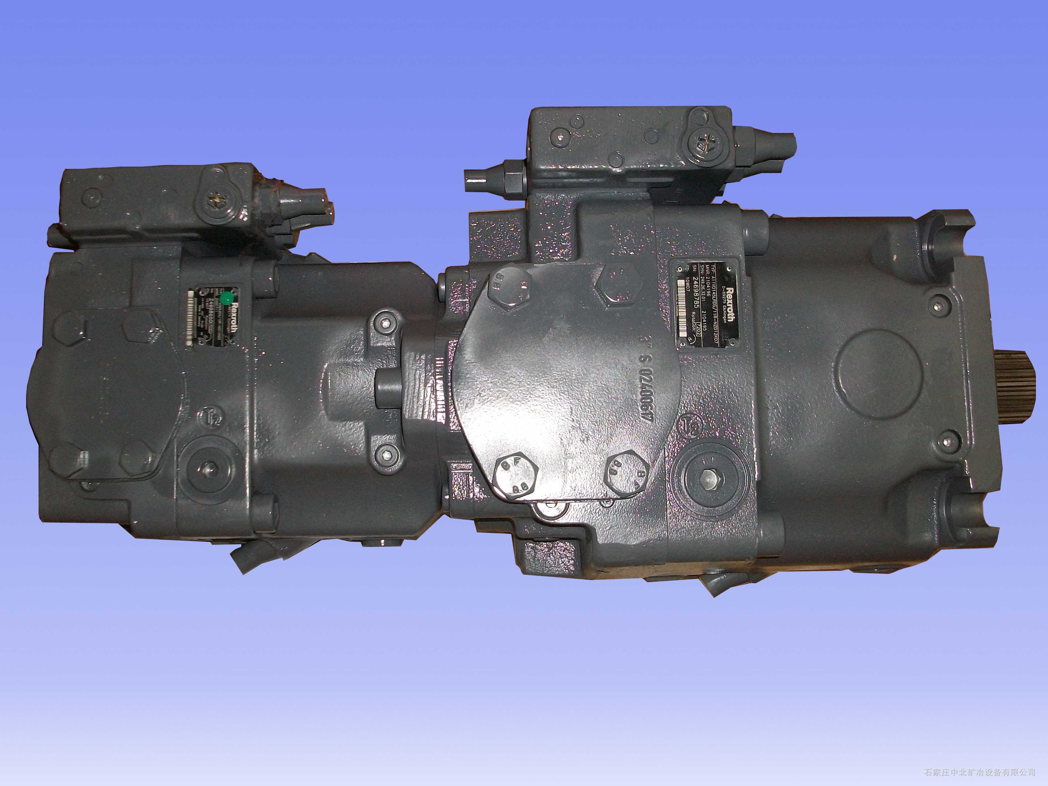 德国Rexroth力士乐A11VO145+A11VO60掘进机用变量泵