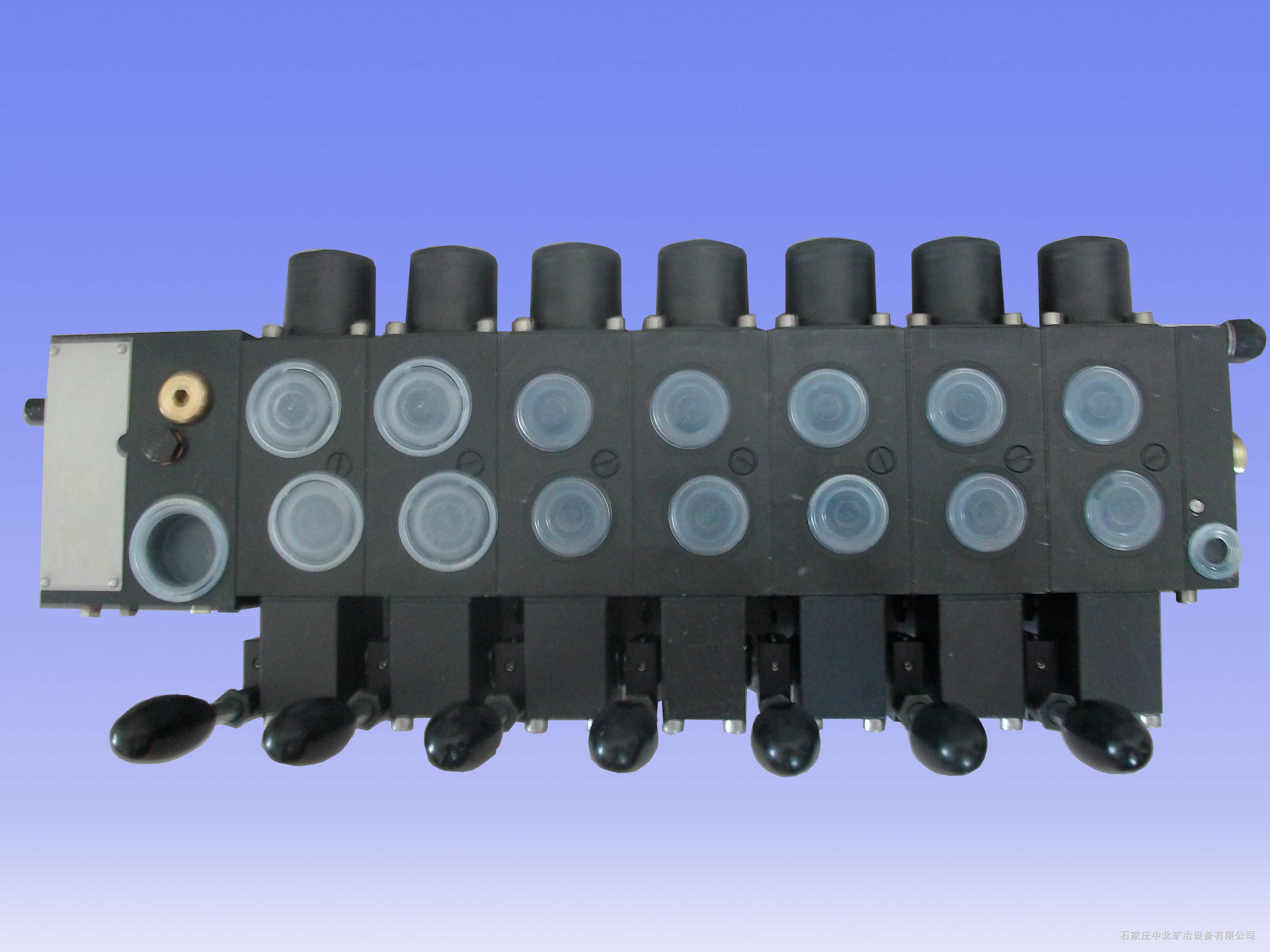 石家庄EBZ160型掘进机用PSV55/230-3-7-E1系列哈威HAWEI七联多路换向阀